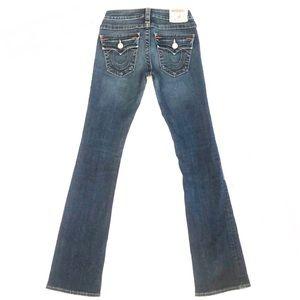 TRUE RELIGION Becky Jeans Size 25